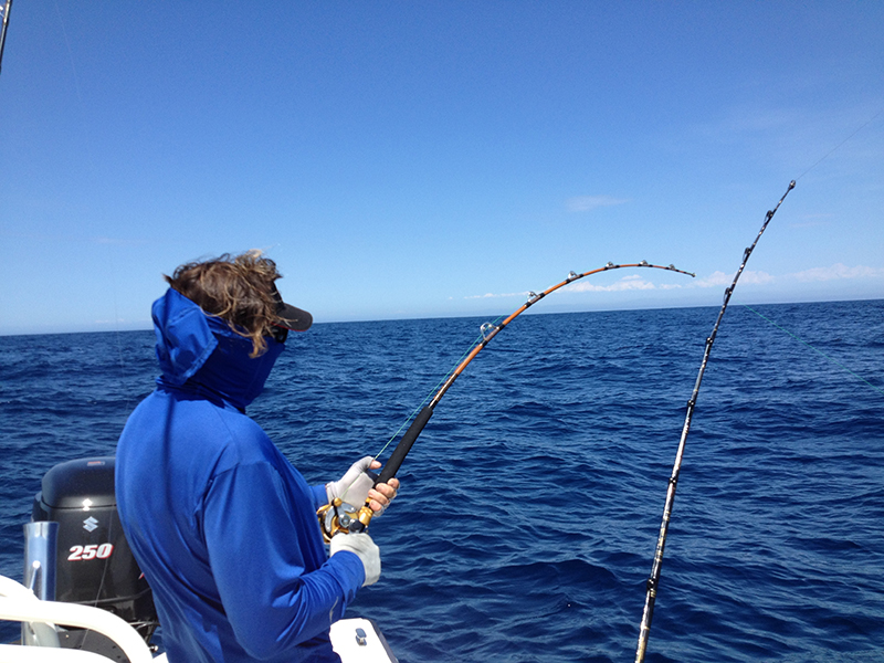 Southern california marlin stoked on fishing with shea for Southern california fishing charters